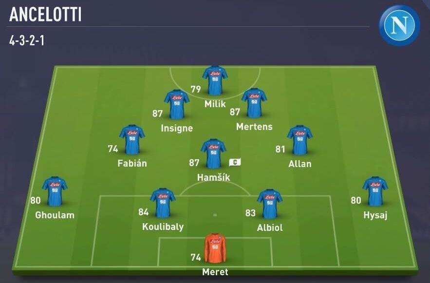 Ancelotti-Napoli-Psiche