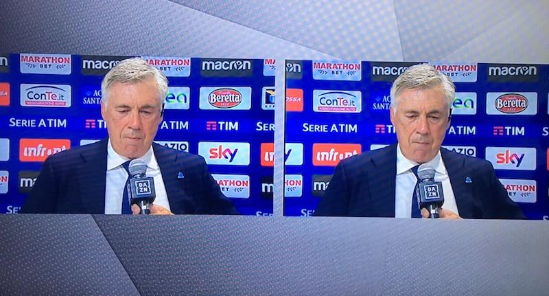 Calcio-Ancelotti-Dazn