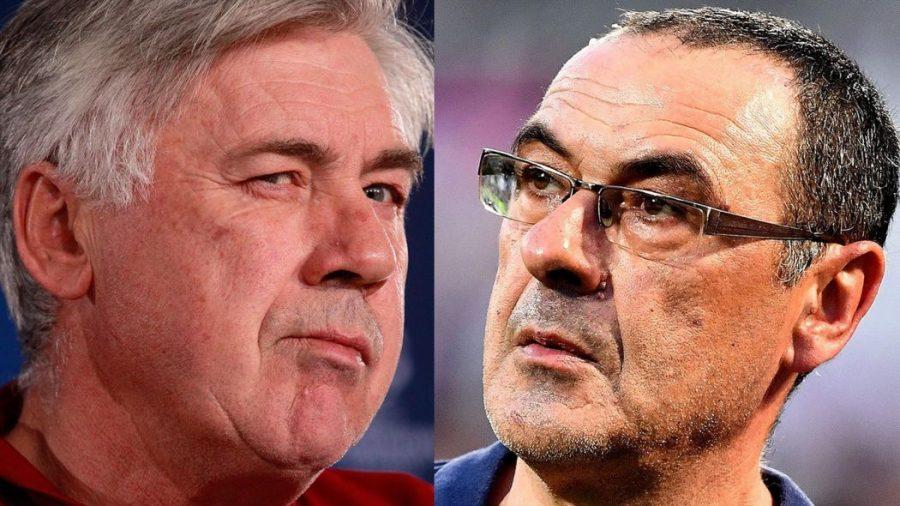 Juve-Napoli-Sarri-Ancelotti