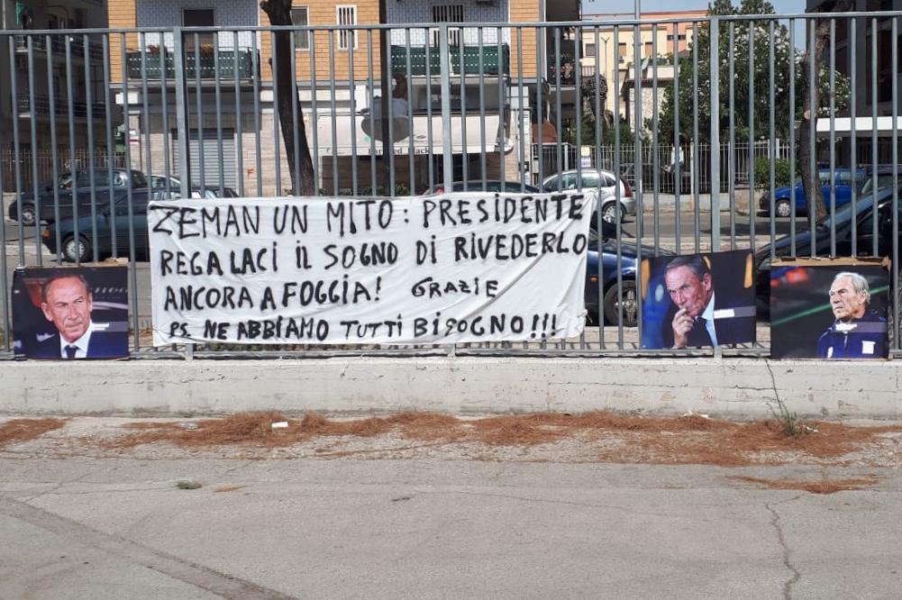 Zeman-Foggia-Striscione