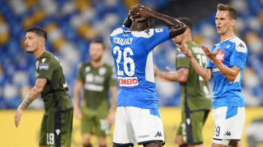 Napoli-Cagliari-Ancelotti-Maran-Zeman