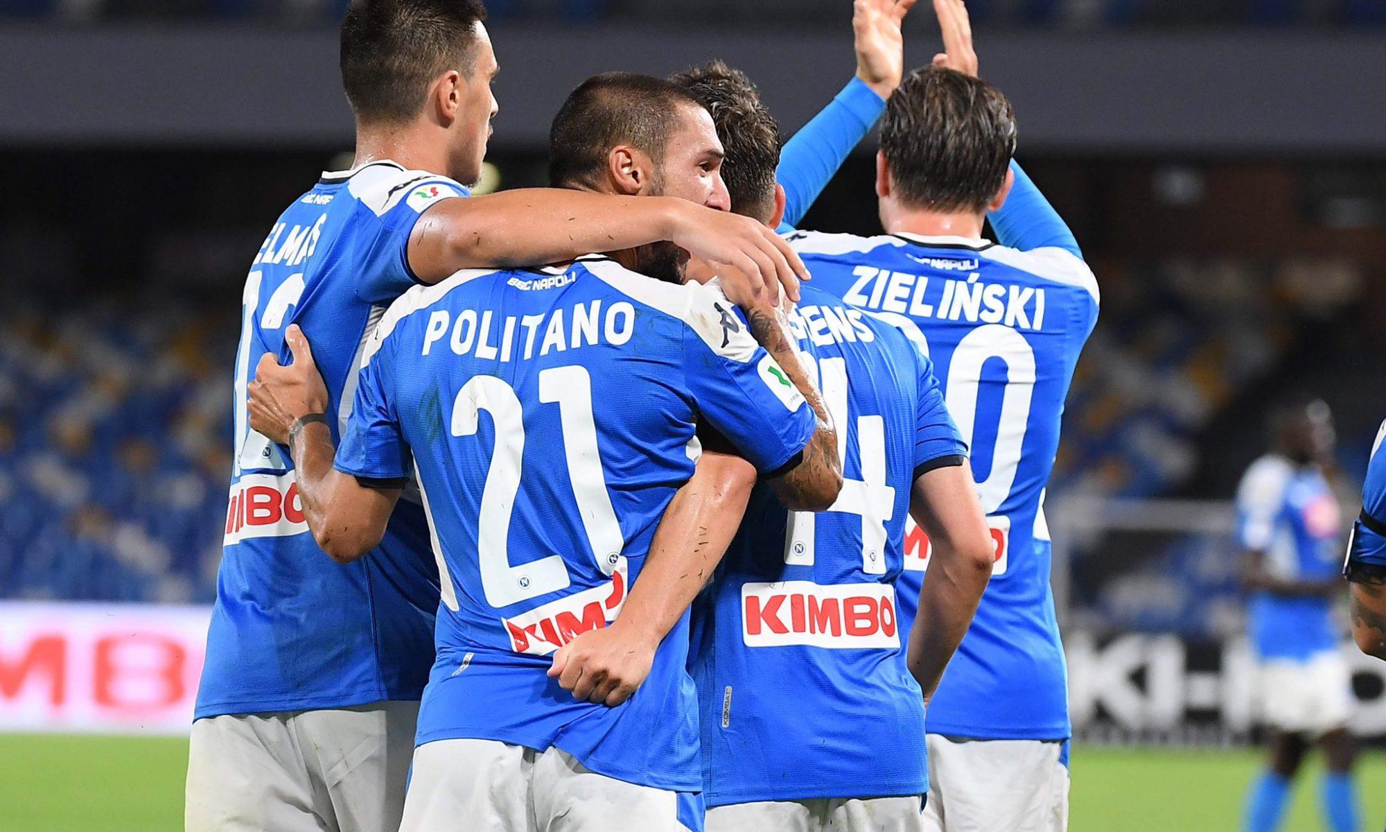 Napoli-Udinese 2-1, la decide Politano