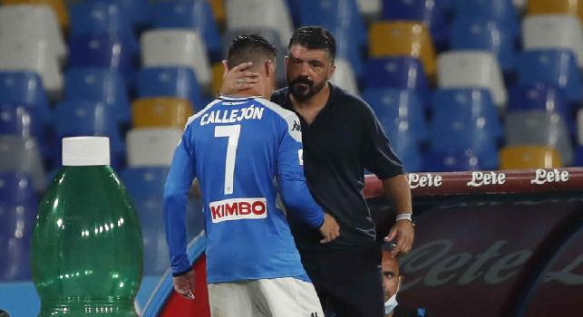 Napoli-Lazio 3-1, tutti in piedi per José Maria Callejon